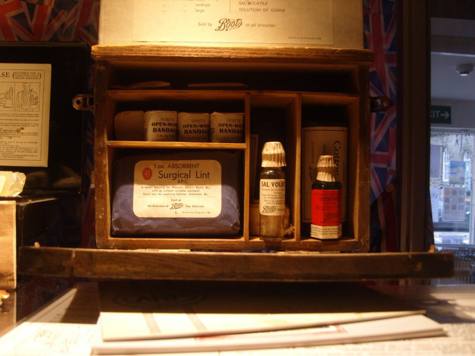 Exhibition 5 - image from our physical exhibition - First Aid Box
