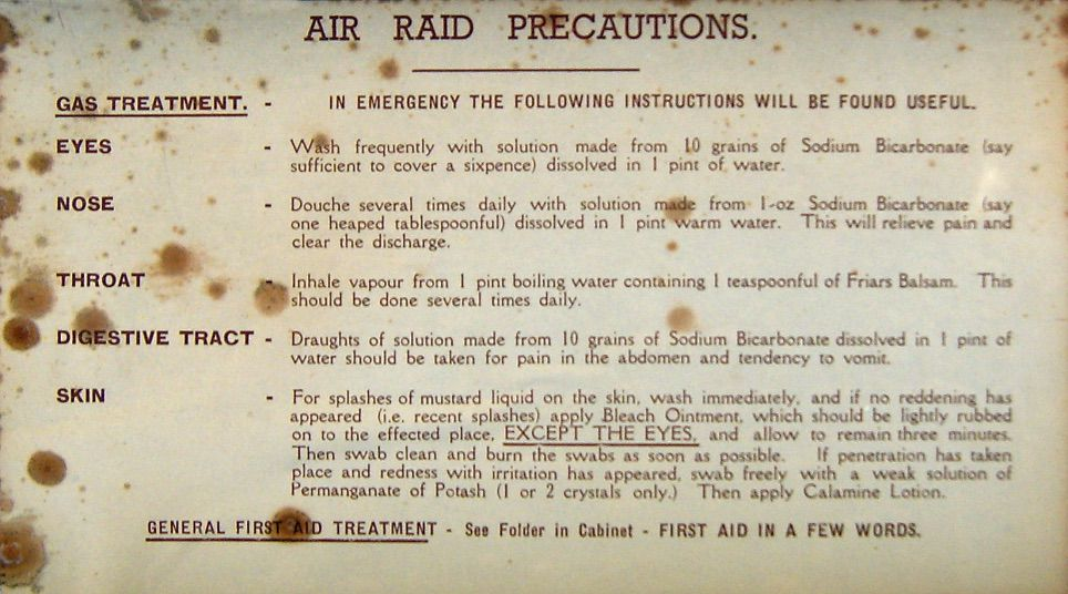 Exhibition 9 - image from our physical exhibition - Air Raid Precautions First Aid Box