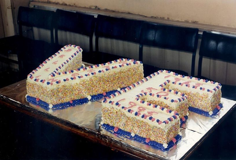The VE Day 50th Anniversary Cake