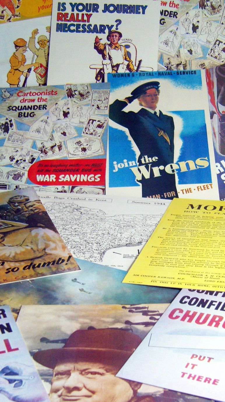 War Poster Collage