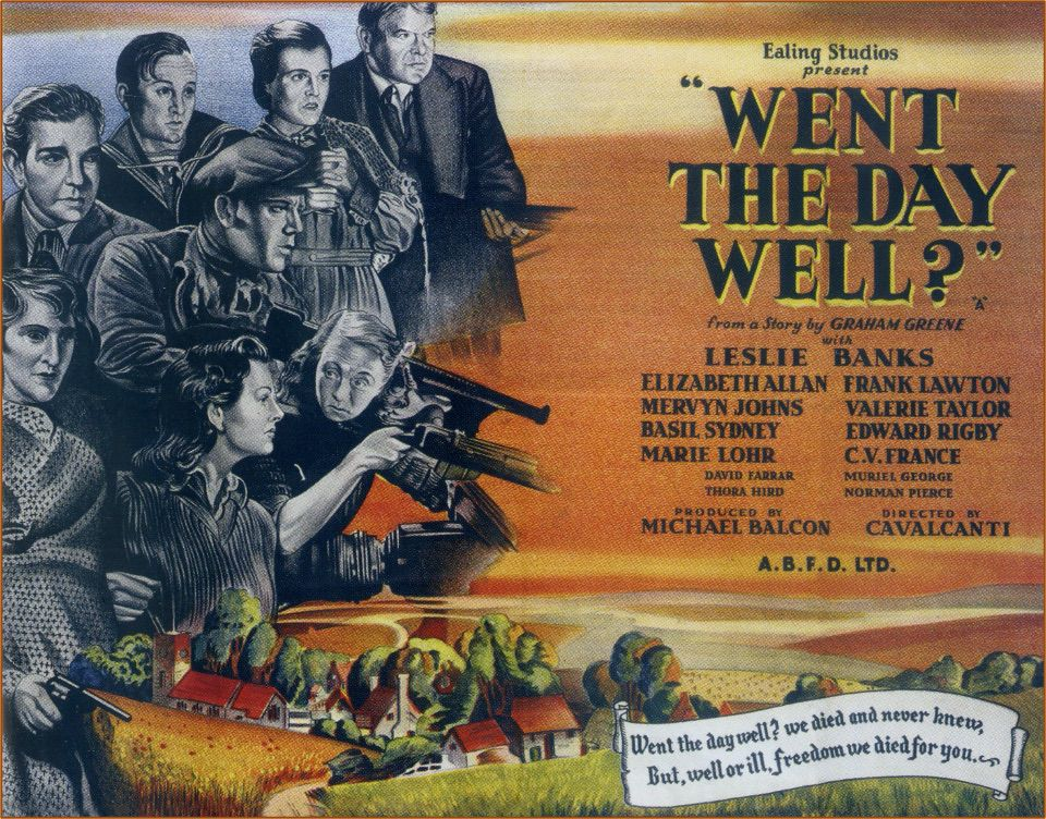 Went The Day Well - Film Poster