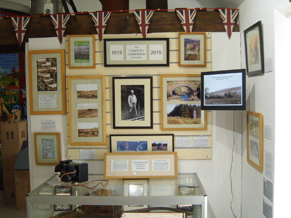Our Seasonal Forestry exhibition celebrating 100 years of the Forestry Commission