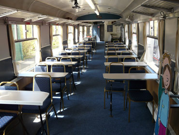 Interior of the Carriages